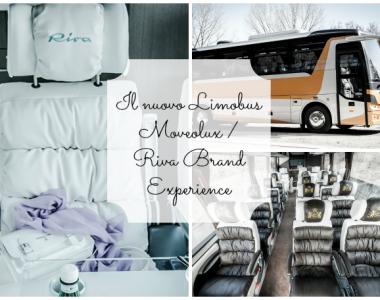 Il nuovo Limobus Moveolux/Riva Brand Experience: trasporto di lusso per un turismo a 5 stelle