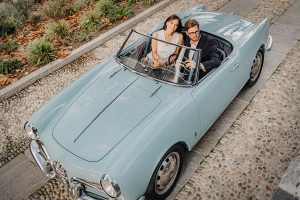 Noleggio Alfa Romeo Giulietta anni 60